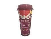 香妍蜜桃�t柚果汁茶