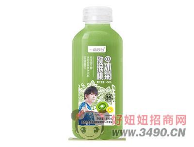一品云台冰菊猕猴桃汁饮料410ml