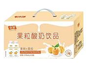 ���S桃+果粒酸奶�品310ml×12瓶