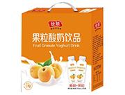 ���S桃果粒酸奶�品310ml×10瓶�Y盒