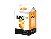 益生元�r果冷榨果肉型果汁�品(橙汁)450ml