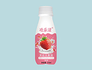 欢乐滋草莓味果粒乳酸菌饮品310ml