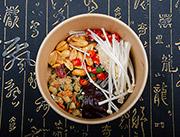北京食烩人金针菇酸辣粉实物