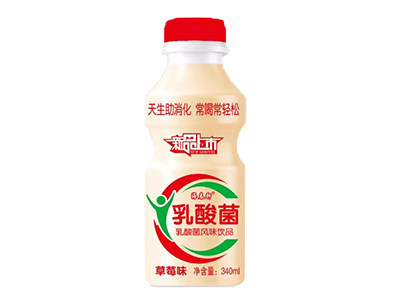 乳酸菌风味饮品340ml两种口味