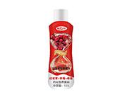 红龙果+草莓+椰浆益生菌发酵果汁