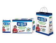 养生冠木糖醇低脂低糖钙中钙核桃复合蛋白饮料礼盒