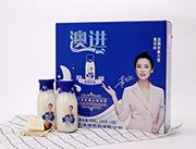 网盟彩票快三玻璃瓶酸奶飲品300g×8瓶禮盒裝