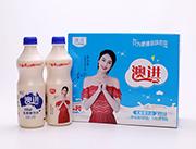 网盟彩票快三原味乳酸菌飲品1L×8瓶