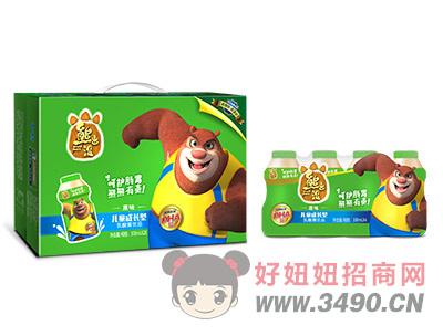 熊出没儿童成长型乳酸菌100ml箱装原味