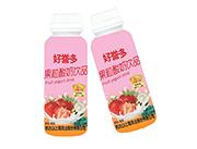好誉多果粒酸奶饮品草莓+椰果净含量310ml