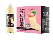 美宜园一杯轻果水蜜桃汁