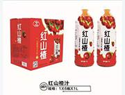 红山楂汁箱装6x1L
