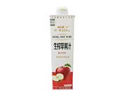 椰沃妙蕊生榨红苹果汁饮料1L