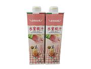 圣牧经典水蜜桃汁饮料1L
