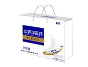 甄秀中老年高钙无蔗糖复合蛋白饮品250ml×12礼盒