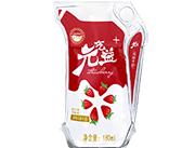 元气益+草莓风味牛奶×180ml