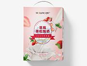�~芙草莓果粒酸奶300ml+10ml