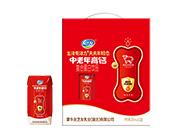 友芝友中老年高钙复合蛋白饮品200ml×12盒钻包礼盒