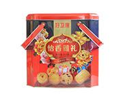 曲奇铁盒饼干868克礼盒