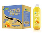 奥尚芒果风味益生菌发酵复合果汁饮料1.5L×6瓶