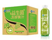 奥尚猕猴桃风味益生菌发酵复合果汁饮料1.5L×6瓶