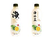 海冰蓝卡曼橘味苏打气泡水×480ml