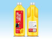 品汇果然有料芒果芝士饮料1.25L