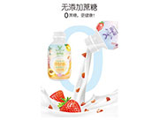 鹿角巷小�p瓶�o蔗糖燕��果粒奶昔招商 �L味固�w�料奶昔代理加盟新品上市