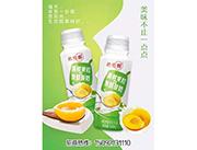 黄桃果粒发酵酸奶