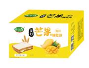 养生冠夹心芒果味吐司1.5kg