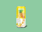菠�}果汁�料490ml