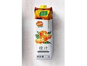 傣恋砖石包橙汁1L