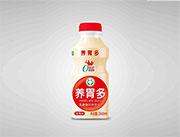 合元养胃多草莓味乳酸菌风味饮品340ml