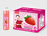 星启动草莓发酵果汁饮料
