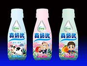 合益��真奶���L味�品  三�N不同口味