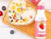 欢乐滋果粒乳酸菌草莓果粒310ml
