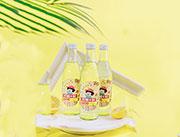 柠檬+梨气泡水