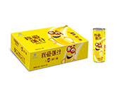 香蕉汁饮料箱装