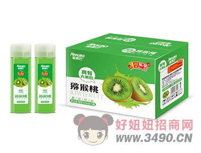 爱慕巴猕猴桃果粒果汁饮料430mlx15瓶