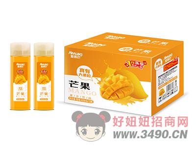 爱慕巴芒果果粒果汁饮料430mlx15瓶