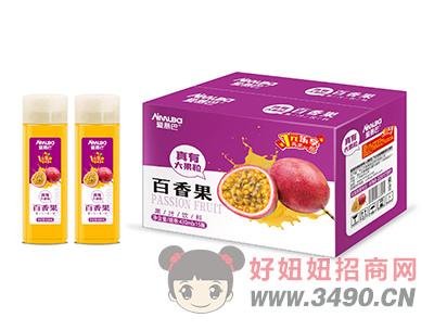 爱慕巴百香果果粒果汁饮料430mlx15瓶