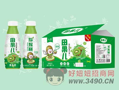 入巷田果儿猕猴桃复合果汁450ml×15瓶