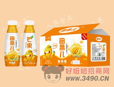 入巷田果儿芒果复合果汁450ml×15瓶