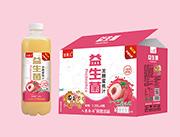 田果儿益生菌发酵蜜桃果汁1.25L×8