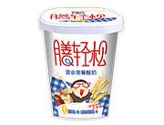 膳�p松混合�餐酸奶