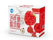 树莓活性硒酸奶酪箱装