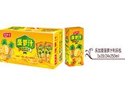 菠萝汁利乐包箱装250ml