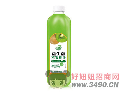 果哇伊益生菌�J猴桃�l酵果汁�料1.25L