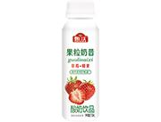 甄沃椰果草莓酸奶310ml