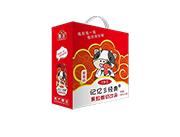 记忆经典草莓果粒酸奶箱装180ml